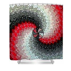 Oh Lynda Shower Curtain by Karen Wiles