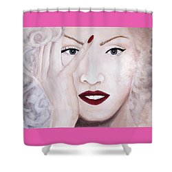 Oh No Shower Curtain