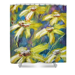 Oh Sunny Day Shower Curtain by Cathy Weaver