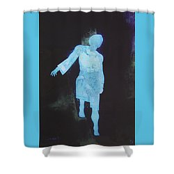 Oh That I Were An Angel  Shower Curtain