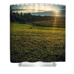 Shower Curtain featuring the photograph Oh What A Beautiful Morning by Kendall McKernon