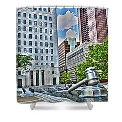 Ohio Supreme Court Shower Curtain