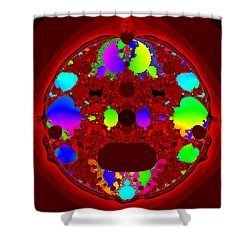 Oidivoclus Shower Curtain