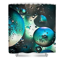 Oil And Water 1 Shower Curtain