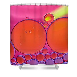 Oil And Water Q Shower Curtain