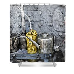 Oil Cans Shower Curtain