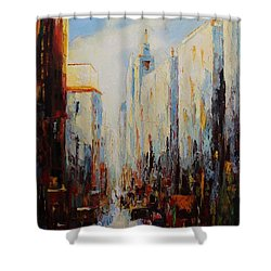 Oil Msc 059 Shower Curtain