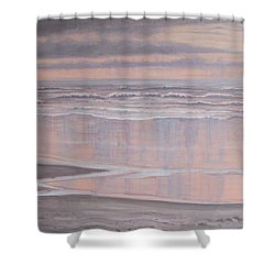 Oil On Canvas Shower Curtain