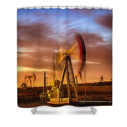 Oil Rig 1 Shower Curtain