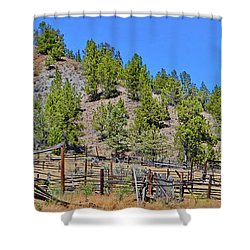 Ok Corral Shower Curtain
