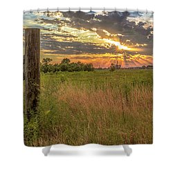 Oklahoma Shower Curtain