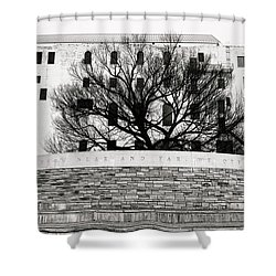 Oklahoma City Memorial 5 Shower Curtain