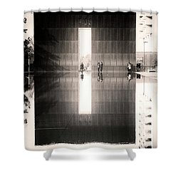 Oklahoma City Memorial Shower Curtain