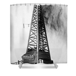 Oklahoma: Oil Well, C1922 Shower Curtain