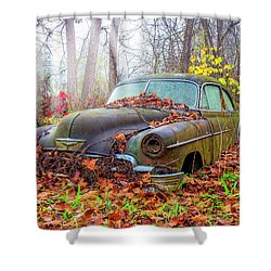 Ol' 49 Chevy Coupe Shower Curtain