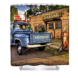 Ol Chevrolet Shower Curtain