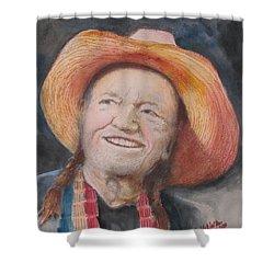 Ol Willie Shower Curtain
