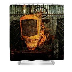 Ol Yeller Shower Curtain by Ernie Echols