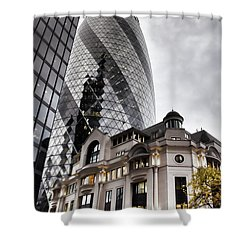 Old And New London Shower Curtain