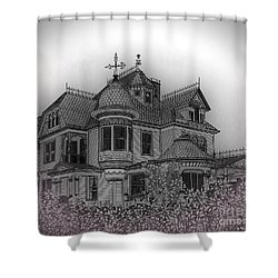 Aristocrat Shower Curtain by Megan Dirsa-DuBois