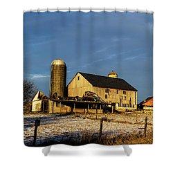 Old Barn 2 Shower Curtain