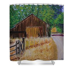Old Barn Sonoma County Shower Curtain