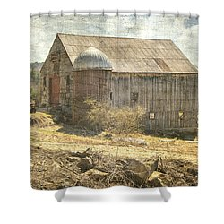 Old Barn Still Standing  Shower Curtain
