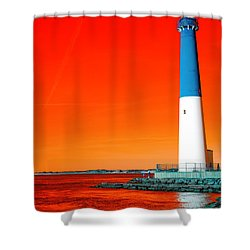 Shower Curtain featuring the photograph Old Barney Pop Art by John Rizzuto