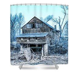 Old Blackiston Mill Shower Curtain