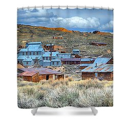 Old Bodie Gold Mining Town Shower Curtain