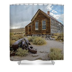 Old Bodie House II Shower Curtain