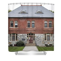 Old Botany Building Penn State  Shower Curtain by John McGraw
