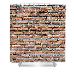 Shower Curtain featuring the photograph Old Brick Wall by Jingjits Photography