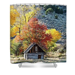 .  Butch Cassidy's Home Place  Shower Curtain