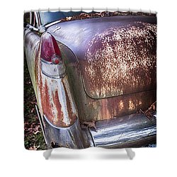 Old Caddy Shower Curtain