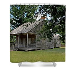 Old Cajun Home Shower Curtain