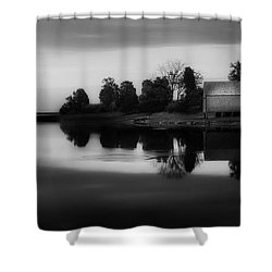 Shower Curtain featuring the photograph Old Cape Cod by Bill Wakeley