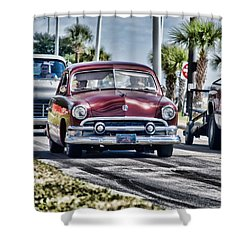 Old Car 1 Shower Curtain