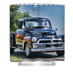 Old Car 3 Shower Curtain