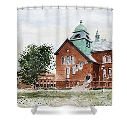 Oklahoma State University Old Central Shower Curtain