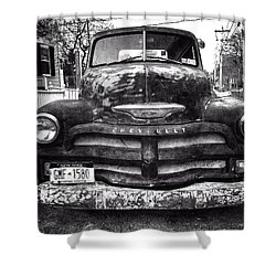 Old Chevy 2 Shower Curtain