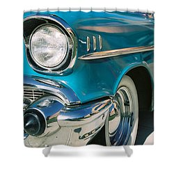 Shower Curtain featuring the photograph Old Chevy by Steve Karol