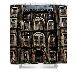 Old City Jail Shower Curtain