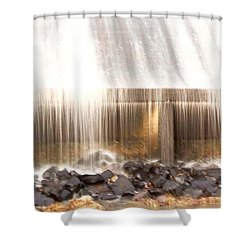 Old City Lake Shower Curtain