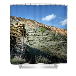 Shower Curtain featuring the photograph Old Country Hovel by RicardMN Photography