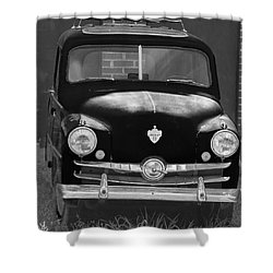 Old Crosley Motor Car Shower Curtain