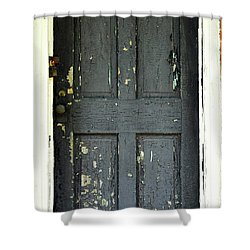Shower Curtain featuring the photograph Old Door by Zawhaus Photography