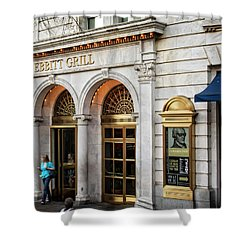 Old Ebbitt Grill Shower Curtain by Chrystal Mimbs