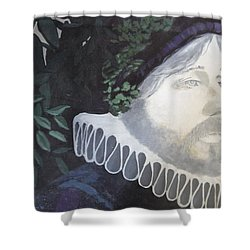 Old Englishman Shower Curtain