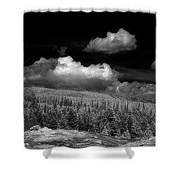 Old Faithful Ir  Shower Curtain